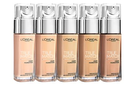 Harga L Oreal True Match Foundation l oreal true match liquid foundation hermo