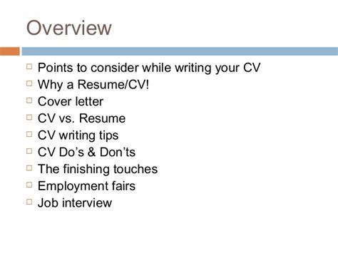 How To Write Your Cv by How To Write Your Cv