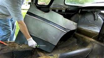 car interior restoration removal and inspection