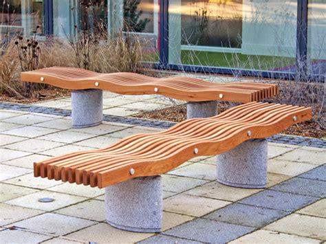 serpentine bench serpentine elipse bench by factory street furniture
