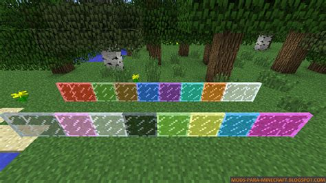 colored glass minecraft colored glass mod para minecraft 1 6 2 1 6 4 mods para