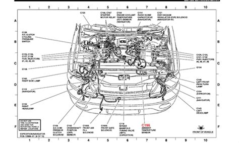 2003 ford escape engine diagram 2003 ford escape engine diagram automotive parts diagram