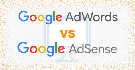adsense vs adwords revenue what is the difference between google adwords and adsense