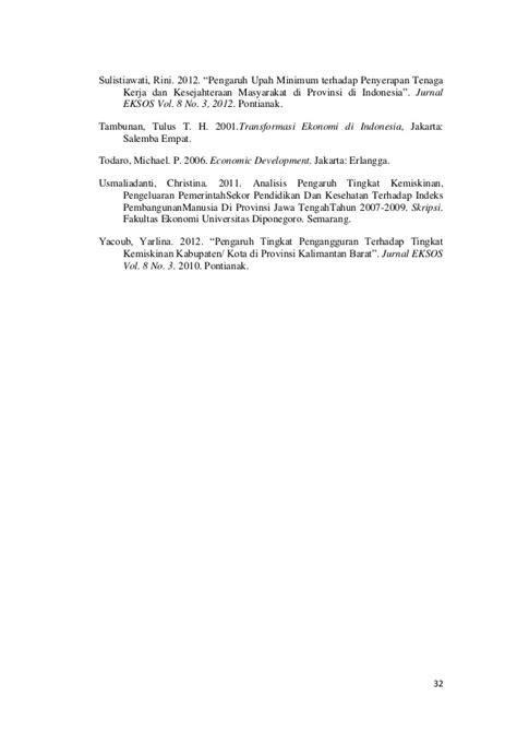 Pengantar Ekonimi Makro Edisi Asia Volume 2 pengaruh tingkat pengangguran dan tingkat ump terhadap