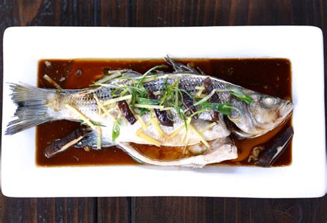 new year and fish steamed rockfish with and green recipe dishmaps