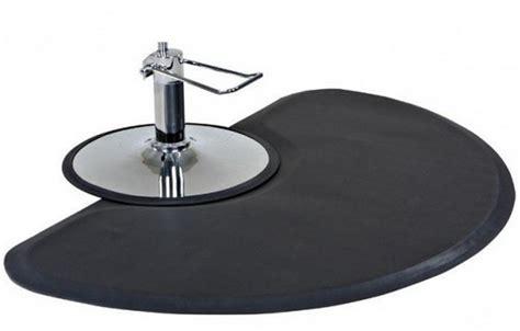 hair salon floor mats semi circle 1 quot anti fatigue salon floor mat