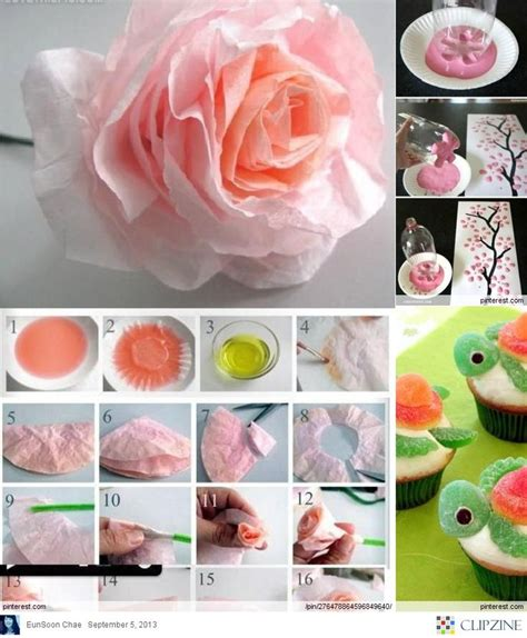 Handmade Creative Things - 64 best crafts diy how to s images on
