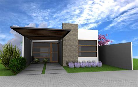 Casa Idea by Fachadas De Casas De Un Piso Modernas Con Idea De Casa