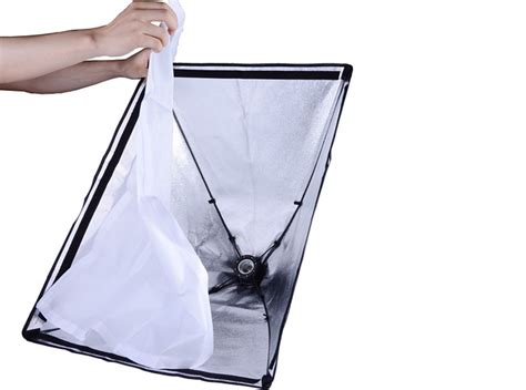 Softbox Portable portable continuous lighting folding softbox kit