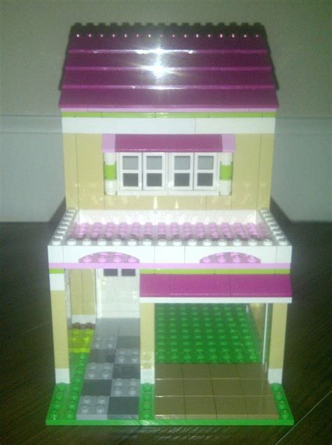lego friends  olivias house custom garage addition