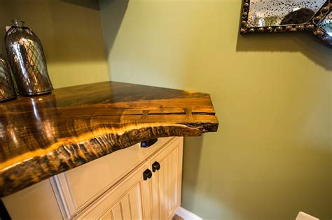 Wood Slab Bar Top by Live Edge Wood Quotes
