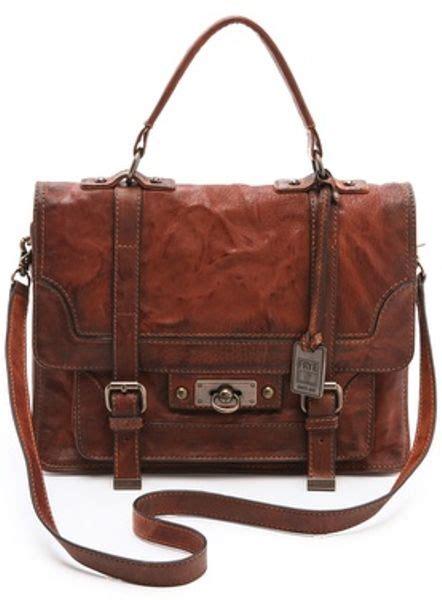Furla Cameron frye cameron satchel in brown lyst
