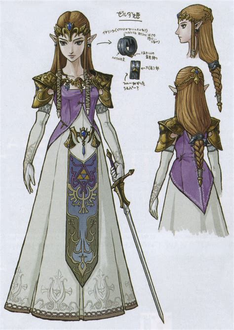 zelda pattern dress zelda s hairstyle the paladin project