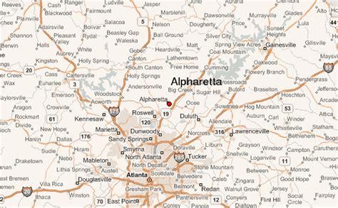 map of alpharetta alpharetta location guide