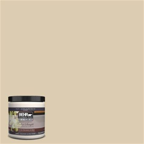 behr premium plus ultra 8 oz ul160 15 bone interior exterior paint sle ul160 15 the home