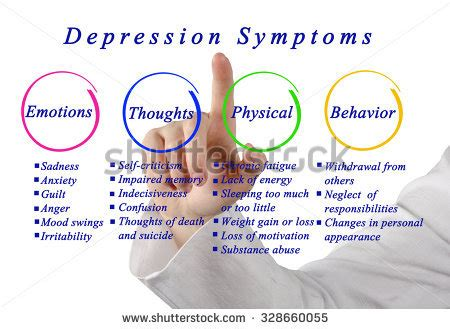 depression symptoms substance abuse stock images royalty free images vectors
