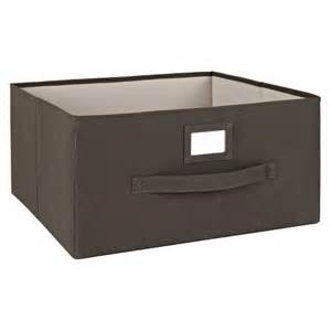 Closetmaid Bins Closetmaid Decorative Fabric Cube Storage Bin 11 Quot Target