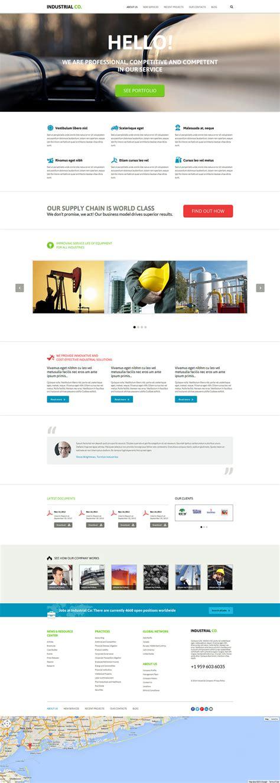 Joomla Design Vorlage joomla vorlage 51038 f 252 r industrie