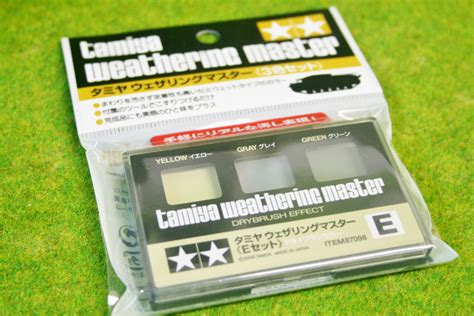 Tamiya Weathering Master A tamiya weathering master set e yellow gray green 87098 arcane scenery and models