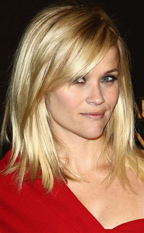 how to cut reese witherspoon bangs summer haircuts blonde hair highlights and perfect bangs