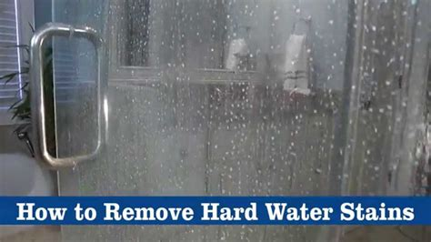 remove hard water stains  bkf youtube