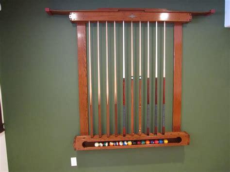 pool ball holder rack greene and greene pool cue rack billiard ball holder by canadianwoodtick lumberjocks com