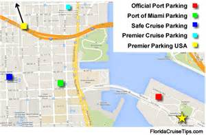 cruise ports in florida map miami cruise parking florida cruise tips