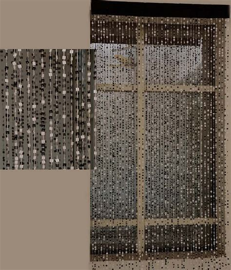 modern beaded curtains aadyahome black contemporary string curtain beaded buy
