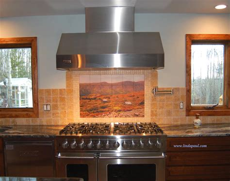 Designer Backsplashes For Kitchens Custom Kitchen Backsplash Designs Decobizz