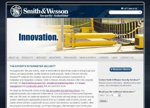 smith wesson security solutions launches new web site