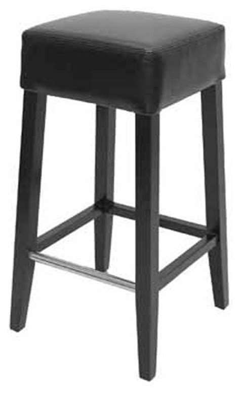 black counter height bar stools backless leather stool black counter height