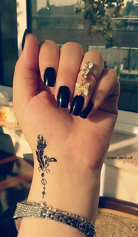 cute small feather tattoo tattoo ideas pinterest