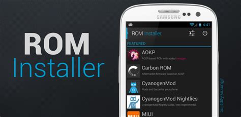 rom android instala roms de manera sencilla en android con rom installer el androide libre