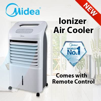 Air Cooler Midea Ac 120s qoo10 midea ionizer air cooler with remote home electronics