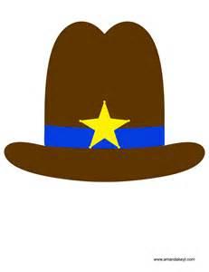 top gun hat template cowboy printable photo booth props amanda keyt designs