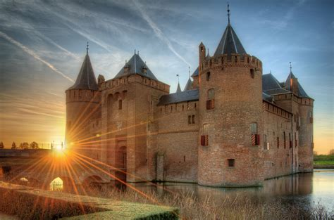 netherlands castles map muiderslot castle in netherlands thousand wonders
