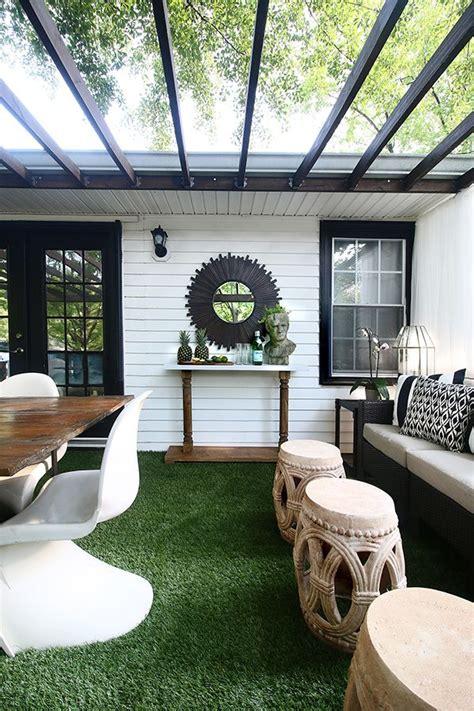artificial grass   greener   deck
