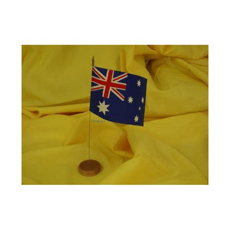 drapeau de table australie drapazur