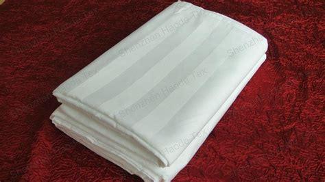 bed sheet materials hotel satin stripe bed sheet fabric lhk c 1 2 3cm shenzhen haode tex china manufacturer