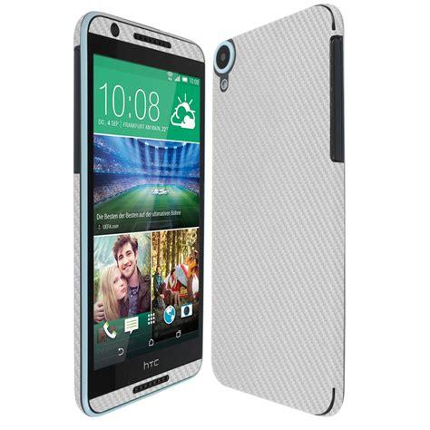 Htc Desire 820 Clear Screen Protector skinomi techskin htc desire 820 silver carbon fiber skin