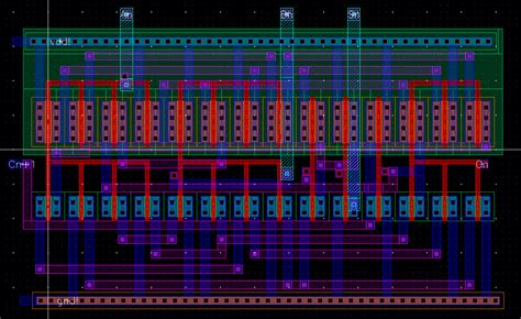 xor layout cadence lab