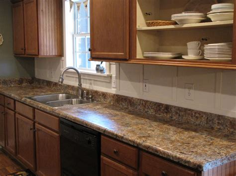 Kitchen Countertops Laminate Painting Laminate Countertops In The Kitchen