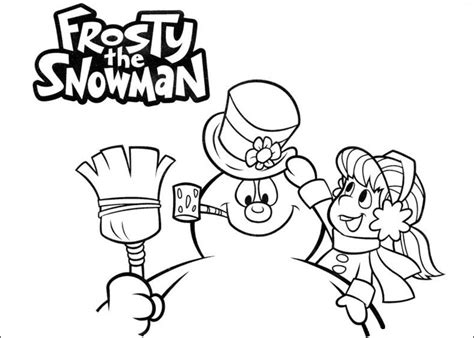 frosty the snowman coloring pages free printable frosty the snowman coloring pages best