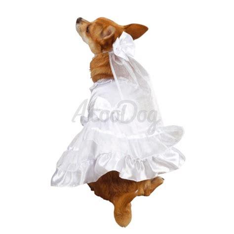 Vi Dress Meribel robe de mariage pour chien robe de cocktail pour chien