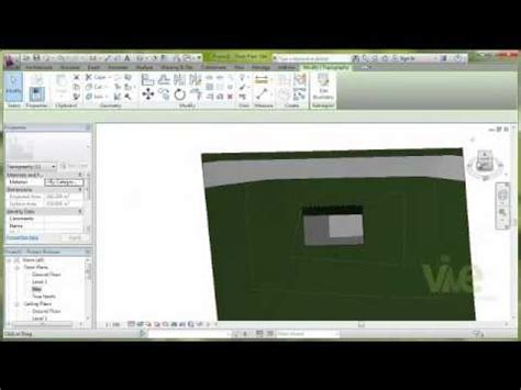 revit tutorial topography tutorial quot topography in autodesk revit architecture 2013
