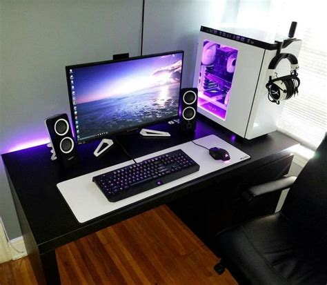 gaming laptop desk best 25 gaming setup ideas on pc gaming setup