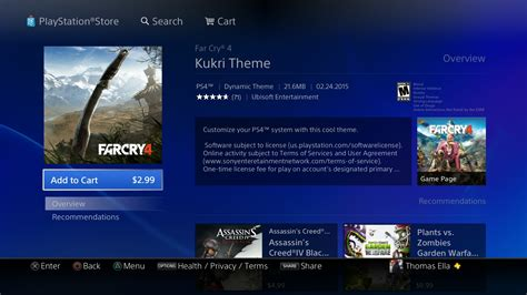 themes on ps4 buying themes on ps4 is terrible hardcore gamer