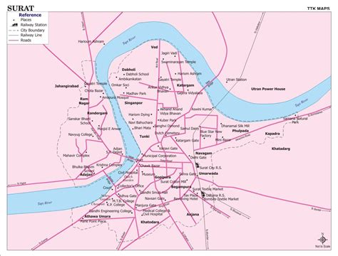 time in surat surat population area timezone geographical position