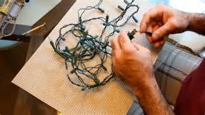 how to fix those broken christmas tree lights video