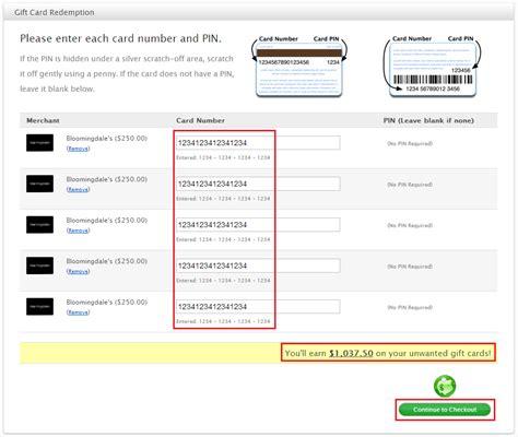 Travel Website Gift Cards - enter mailing address for cardpool